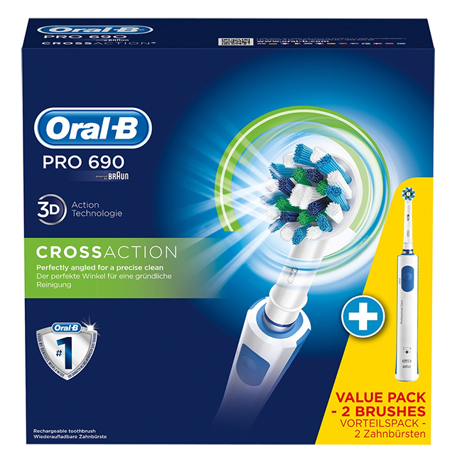 Oral B Pro 690 Cross Action Extra Body Aanbieding Nu 4345