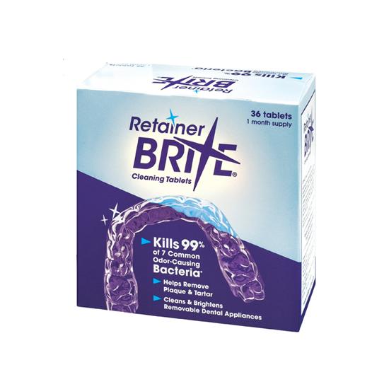 Retainer Brite Reinigingstabletten - 36 stuks