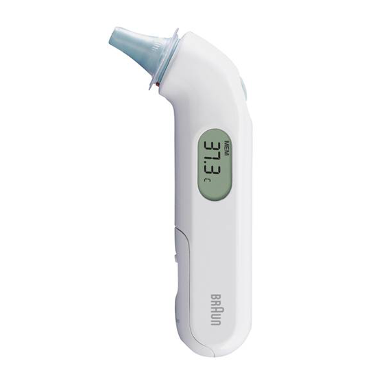 Braun oorthermometer