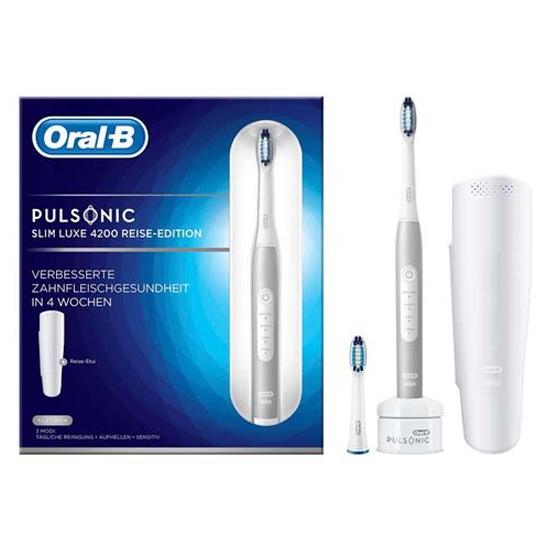 Oral-B Pulsonic Slim Luxe 4200 Platinum - Prijsvergelijk