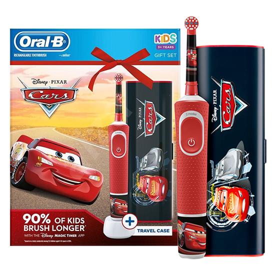 Oral-B Kids Cars + Reisetui - Gift Set - Prijsvergelijk