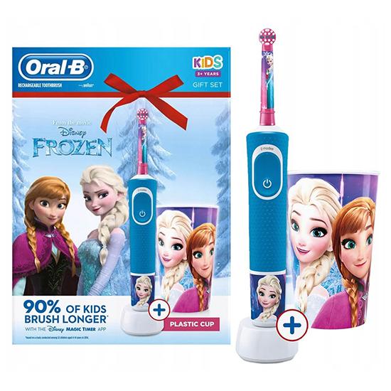 Oral-B Kids Frozen en Beker - Gift Set - Prijsvergelijk
