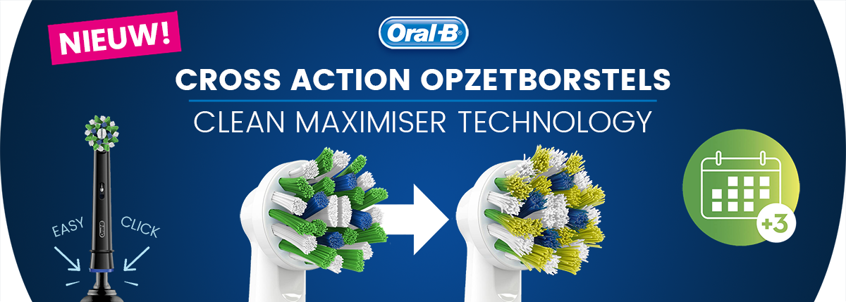 Oral-B Cross Action CleanMaximiser