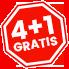 4+1 GRATIS