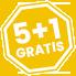 5+1 GRATIS