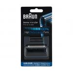Braun komt met zijn nieuwe scheerbladen Foil & Cutter Cruzer voor de scheerapparaten van  Series 1. Braun raadt aan om het scheerblad en messenblok van je scheerapparaat elke 18 maanden te vervangen voor de perfecte dagelijkse scheerbeurt. In deze 1,5 jaar zal je Braun scheerapparaat gemiddeld 6.000.000 haartjes scheren. Zo kan het zijn dat de snijdende delen langzaam versleten raken en uw scheerbeurt wat minder glad en comfortabel aanvoelt. U hoeft dus geen nieuw scheerapparaat te kopen, maar alleen het scheerblad en messenblok. Uw Braun scheerapparaat zal weer als nieuw presteren.  Met de Braun Cruzer Foil & Cutter scheert u uiterst glad en de scheerbladen en messenblokken zijn gemakkelijk te vervangen. U kunt de Foil & Cutter gebruiken voor alle Series 1 scheerapparaten van Braun.    Hoe vervangt u de scheerkop van uw apparaat?   Stap 1. Haal de stekker uit het stopcontact Stap 2. Druk de zijkanten van de cassettekop in om het scheerblad te ontgrendelen Stap 3. Trek het oude scheerblad en messenkop eraf Stap 4. Klik het nieuwe scheerblad en de messenkop op het apparaatGeschikt voor Braun scheerapparaten: Series 1  FreeControl CruZer CruZer face Type: 199, 195, 190, 170  Het typenummer van uw scheerapparaat vind u op de achterkant van het scheerapparaat, op de behuizing onder het messenblok of onder de tondeuse.  Heeft u vragen over welk scheerblad en messenblok het beste past bij uw scheerapparaat? Neem dan contact met ons op!   Inhoud van de verpakking:  1x Braun Cruzer Foil & Cutter - Series 1