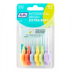 TePe Interdentale Ragers Extra Soft - Mixed Pack - 6 stuks
